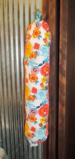Pioneer Woman *Flea Market* Plastic Grocery Bag Holder ~ Kit