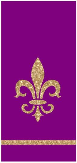 Fleur de Lis French Lilly Kitchen Towels by Kay Dee Designs