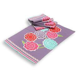 tag Floral Lilac 100% Cotton 26 x 18 Inch Kitchen Dish Towel