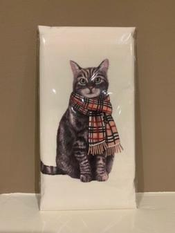 Flour Sack Kitchen Dish Towel Burberry Cat Mary Lake - Thomp