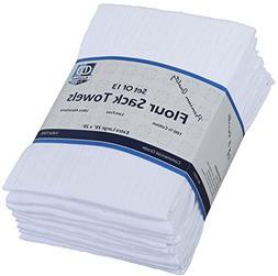 Flour Sack Kitchen Towels  , 100% Cotton 28 x 28 Inches Clot