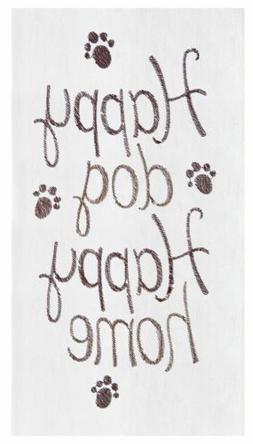 Flour Sack Towel, Happy Dog