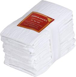 "28 x 28 "" Flour Sack Towels Cotton Absorbent Utopia Kitchen"
