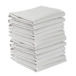 Kaf Home Set Of 12 White Wrinkled Flour