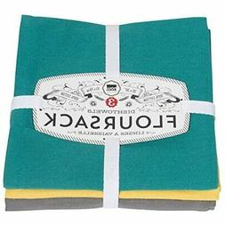 Now Designs Floursack Dishtowel Set of Three: Mallard, Curry