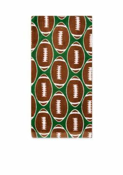 "Ritz- Football Print  Kitchen Towel Cotton  16"" x 25"" NEW"