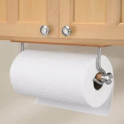 InterDesign Formbu Bamboo Wall Mount Paper Towel Holder, Sta