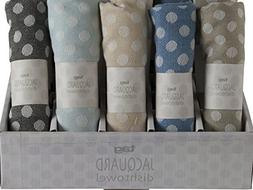 Tag French Jacquard Kitchen Towels Set Of 5