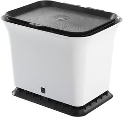Full Circle Fresh Air Odor-Free Kitchen Compost Bin  Back An