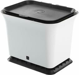 Full Circle Fresh Air Odor-Free Kitchen Compost Bin, Back An