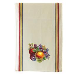 Fruit Fruits Style 4 Cotton Retro Stripe Dish Kitchen Towel