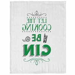 Fun Slogan Kitchen Tea Towel Dish Cloth With Hanging Loop Le