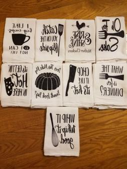 Funny Flour Sack Kitchen Towel - great gift!
