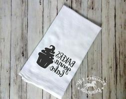 Funny Flour Sack, Tea Kitchen Towel - Bakers Gonna Bake