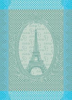 """Garnier Thiebaut, Eiffel Vintage  Celadon, 22 by 30"""", French"""