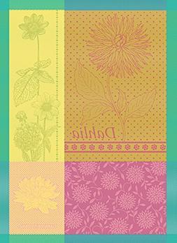 """Garnier-Thiebaut Dahlia Citrus, 22 by 30"""", French Kitchen To"""