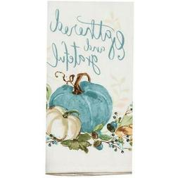 Kay Dee Designs Gathered and Grateful Pumpkin Kitchen Towel