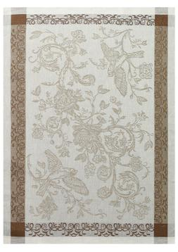 Gray and Brown Kitchen Towel Made Belarus Cotton Linen Tea T