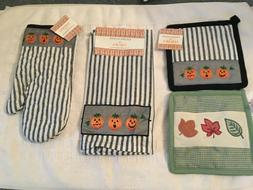 Halloween Kitchen Accents by Jabara Towels, Pot Holder, Oven