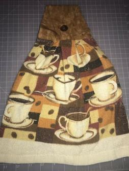 Hand Crafted 100% Cotton Quilters Fabric Cloth Hanging Kitch