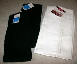 HAND / KITCHEN TOWELS Room Essentials 2 Black and 2 Better H