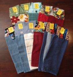 Hand Made Top Hanging Kitchen - Dish Towels - Many Colors &
