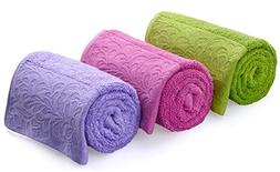 Cleanbear Hand Towels for Bathroom, Kitchen - Cotton Hand To