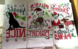 KITCHEN / HAND/ TOWELS..HOLIDAY DESIGNS