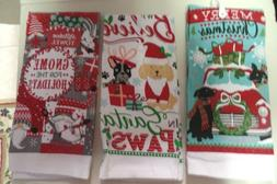 KITCHEN/ HAND TOWELS--HOLIDAY DESIGNS