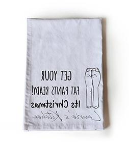 Amore Beaute Handcrafted Cotton Tea Towel | Christmas Funny