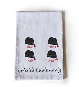 Amore Beaute Handcrafted Custom Cotton Tea Towel -Grandma's