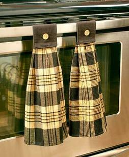 Hanging Country Kitchen Towels
