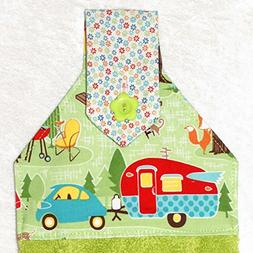 Hanging Hand Towel For Kitchen or Bath -...