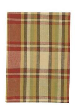 Heartfelt Dish Towel Country Plaid Farmhouse Kitchen Dining