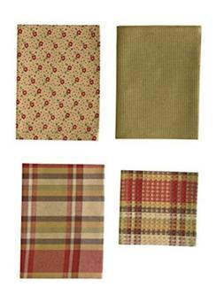 Park Designs Heartfelt Set 3 Dish Towel, 1 Dishcloth