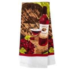 Home Collection Wine-Themed Kitchen Towels, 15x25 in. BRAND