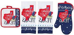 home sweet texas kitchen linen