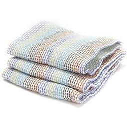 Full Circle Home Tidy Dish Cloths - 12 inch x 12 inch - 3 Pa