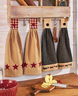 Housewarming Gifts Hanging Kitchen Towels Dining Décor Cott