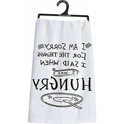 "Primitives by Kathy LOL Made You Smile Dish Towel, 28"" x 28"""