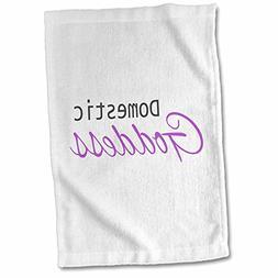 3dRose InspirationzStore Typography - Domestic Goddess - hum