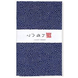 KOMESICHI Irodori Tenugui Japanese Hand Towel Shark Pattern
