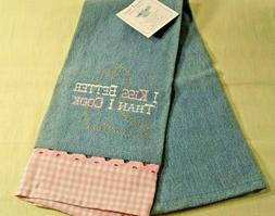 Kay Dee Designs Blue and Pink Western Style Cotton Kitchen T