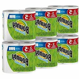 Bounty Kitchen & Dining Features Quick-Size Paper Towels, Wh