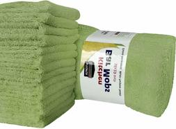 "12 Kitchen Bar Mop Towels Cleaning Towels 16x19"" Cotton Whol"