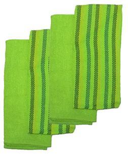 Kitchen Bar Mop Towel 100% Cotton Solid Color & Striped  - H