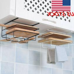 kitchen cabinet wall hanging iron board holder