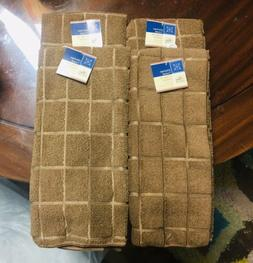 Kitchen Dish Hand Towels Brown Color. Lot of 4. A+Seller