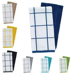 Kitchen Dish Towel Absorbent Dishcloth Cotton Table Linens M
