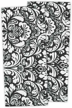 "Kitchen Dish Towels, 28 x 18"" Set of 2,Damask's Cotton, Apro"